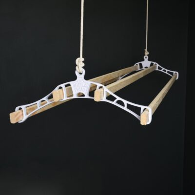 White Sheila Maid clothes airer