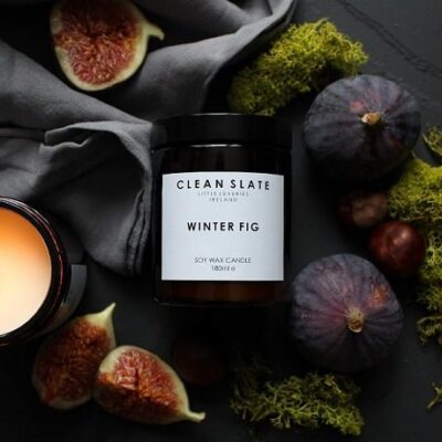 clean slate soya wax natural scented candles