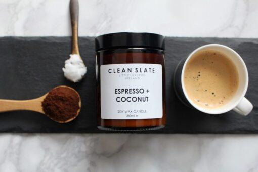 espresso and coconut