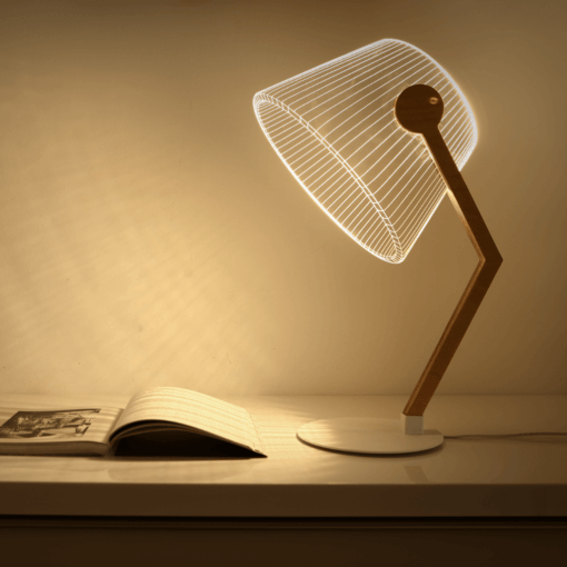 3D ziggi lamp