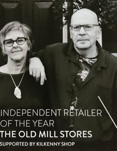 Claire Graham and Tom Keane owners The Old Mill Stores