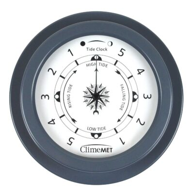 tide clock slate grey