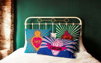 Embroidered Mexican Cushions