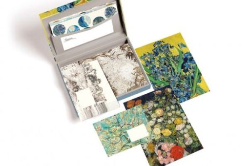 letter writing stationery with Vincent Van Gogh designs