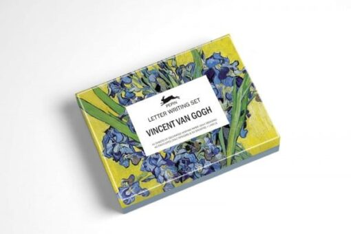 letter writing set with vincent van gogh designs stationery