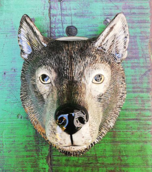 Wall Vase Animal Head