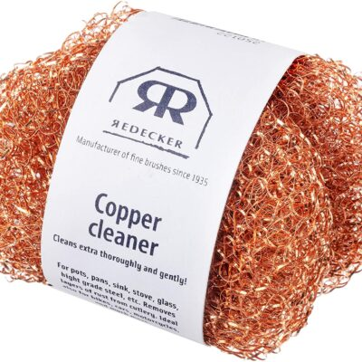 copper scouring pads with antiviral properties