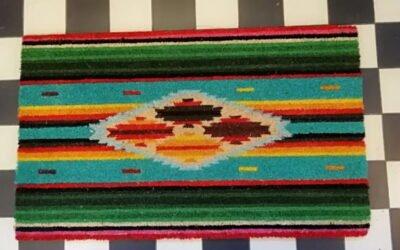 Sarape Doormat