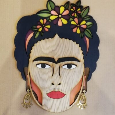 Miss Frida wall mask