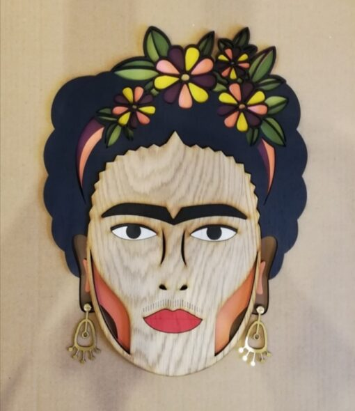 Miss Frida wall mask
