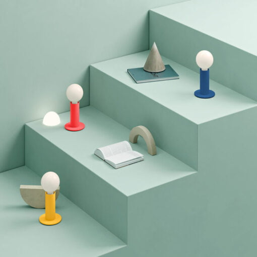 Sol touch lamp colours collection