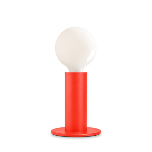 Poppy red Sol touch lamp