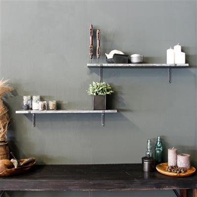 zinc shelf
