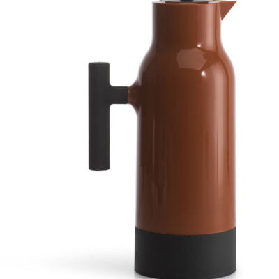 Terracotta Coffee Thermos Jug