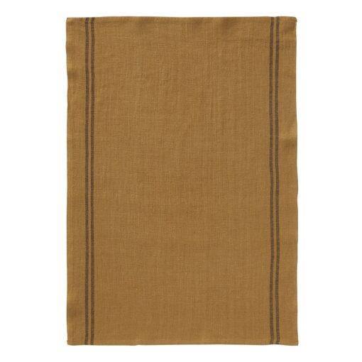 turmeric linen tea towel country linen colllection