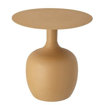 mustard yellow Ayah side table