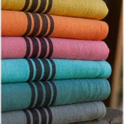 Linen cotton mix Piano Collection Charvet Editions