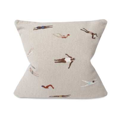 Swimmers Linen cushion